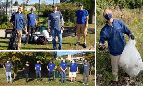 Portage Michigan City Parks Clean Up