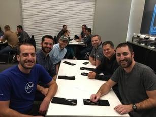 Dinner Team JT, TC, DM, KJ, EW, MW
