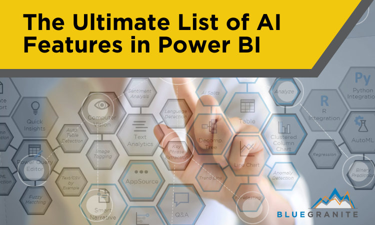 The Ultimate List of AI Features in Power BI