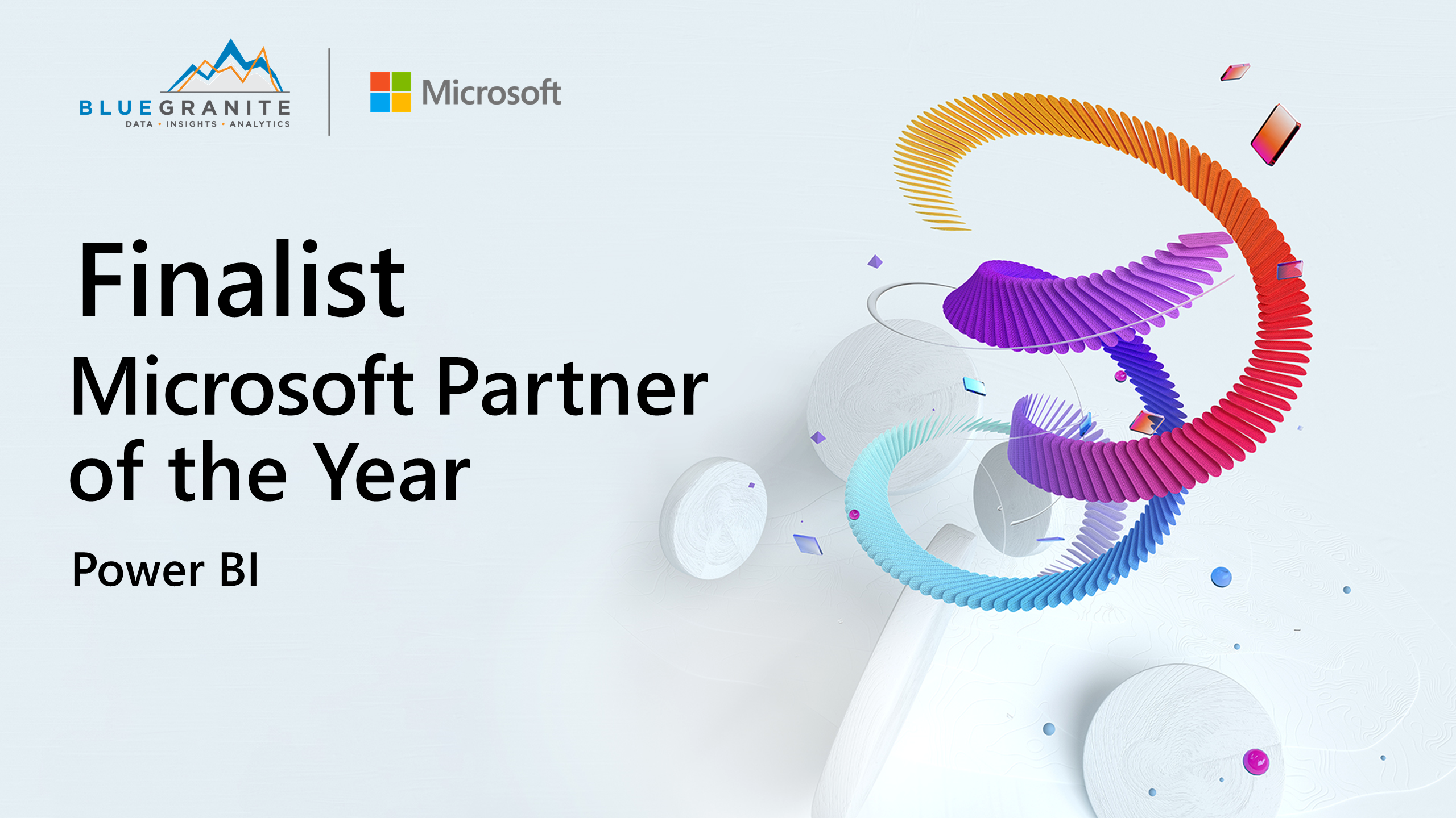 BlueGranite Recognized as Finalist for Microsoft's 2021 Partner of the Year Awards